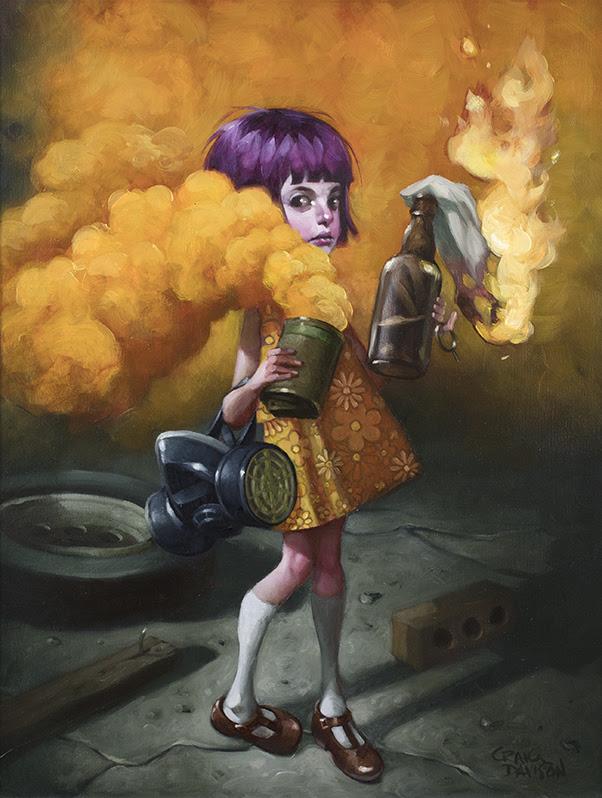 A Riot Of My Own - Canvas - Framed by Craig Davison