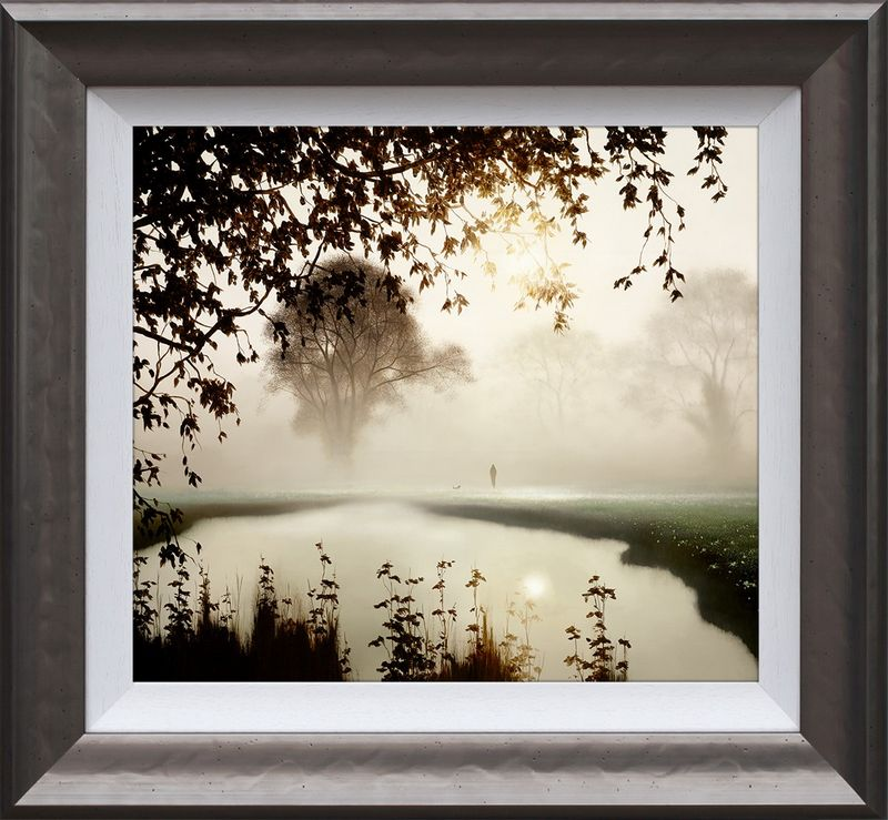 A Time for Reflection - Framed by John Waterhouse