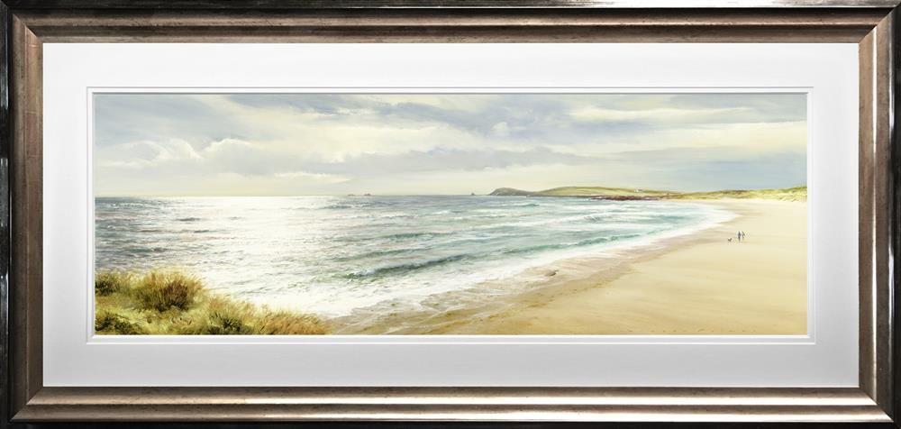 A Walk Along The Bay - Framed by Duncan Palmer