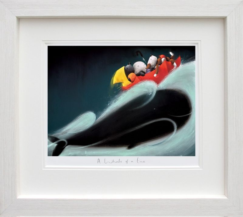 A Whale Of A Time - Framed by Doug Hyde