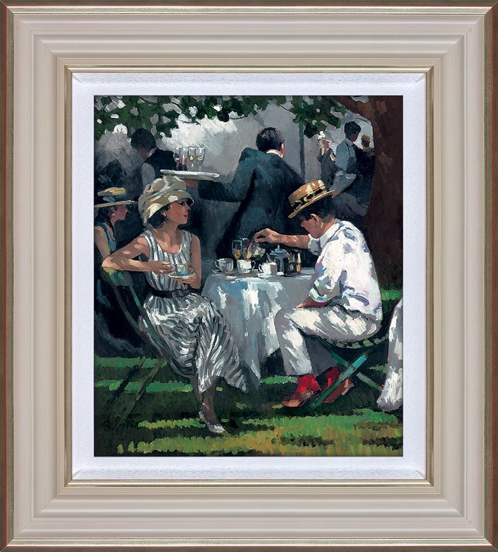 Afternoon Tea - Framed by Sherree Valentine Daines