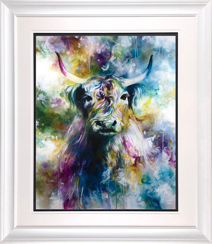 Aisling - White Frame - Framed by Katy Jade Dobson