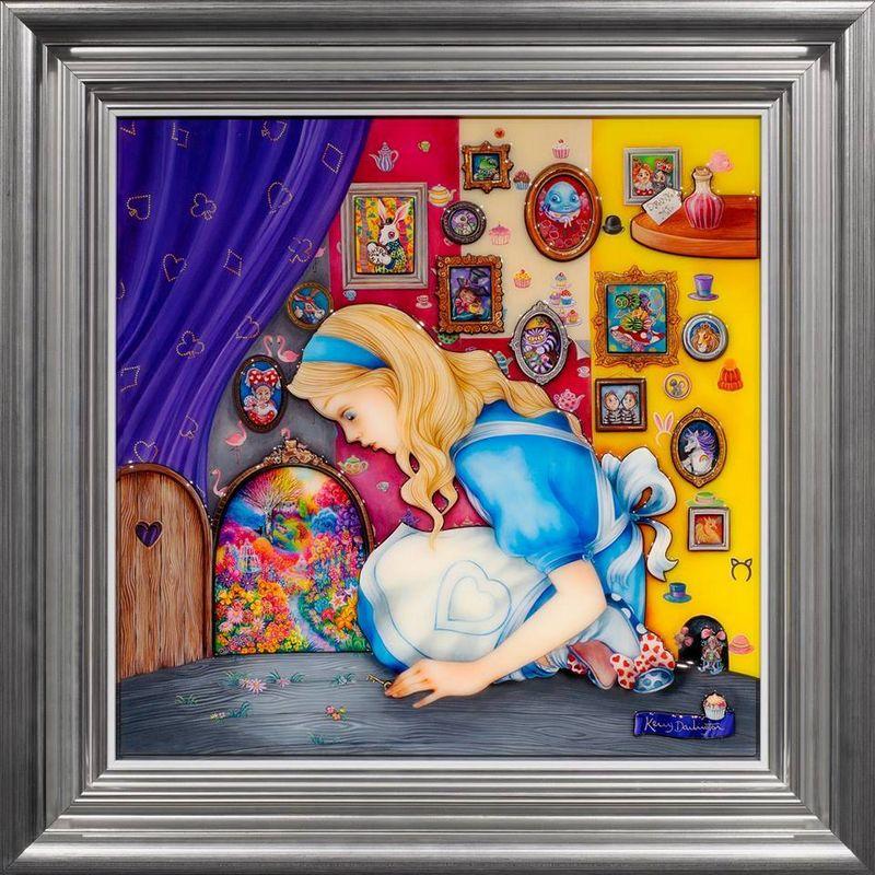 Alice Finds The Little Door by Kerry Darlington