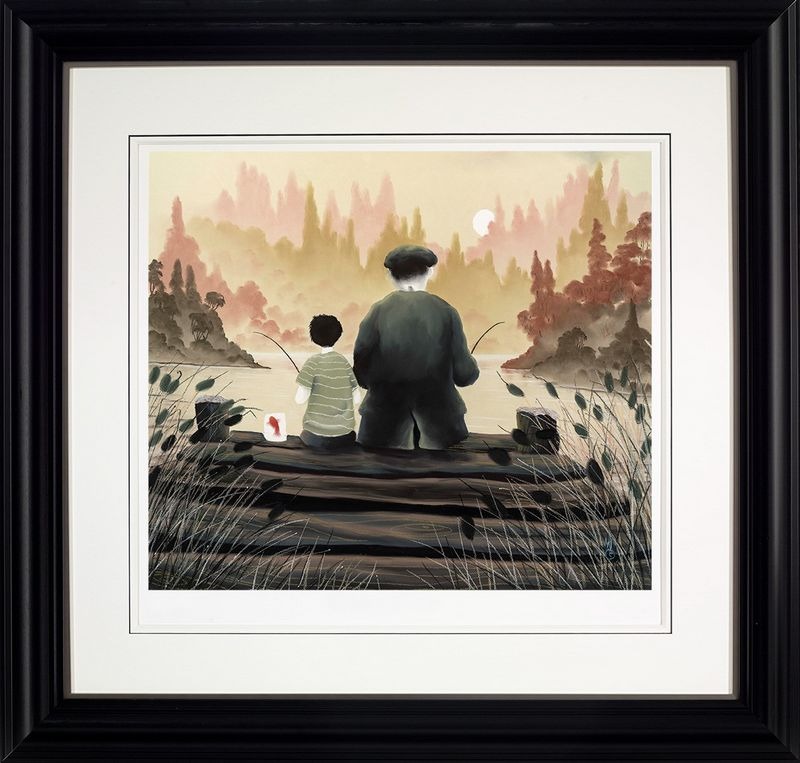 All Our Yesterdays - Framed by Mackenzie Thorpe