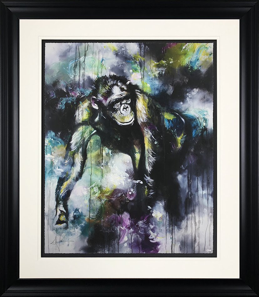 Alpha - In Black - Framed by Katy Jade Dobson