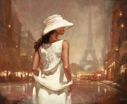 An Evening In Paris - Board Only by Mark Spain