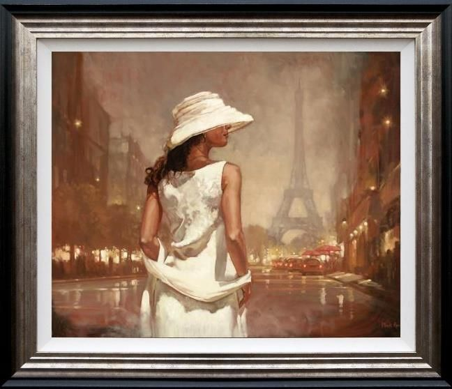 An Evening In Paris - Framed by Mark Spain