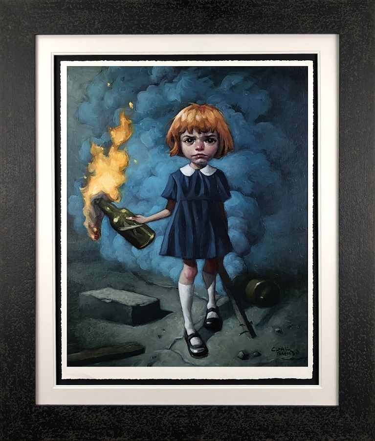 And I'm Never Going To Dance To A Different Song - Framed by Craig Davison