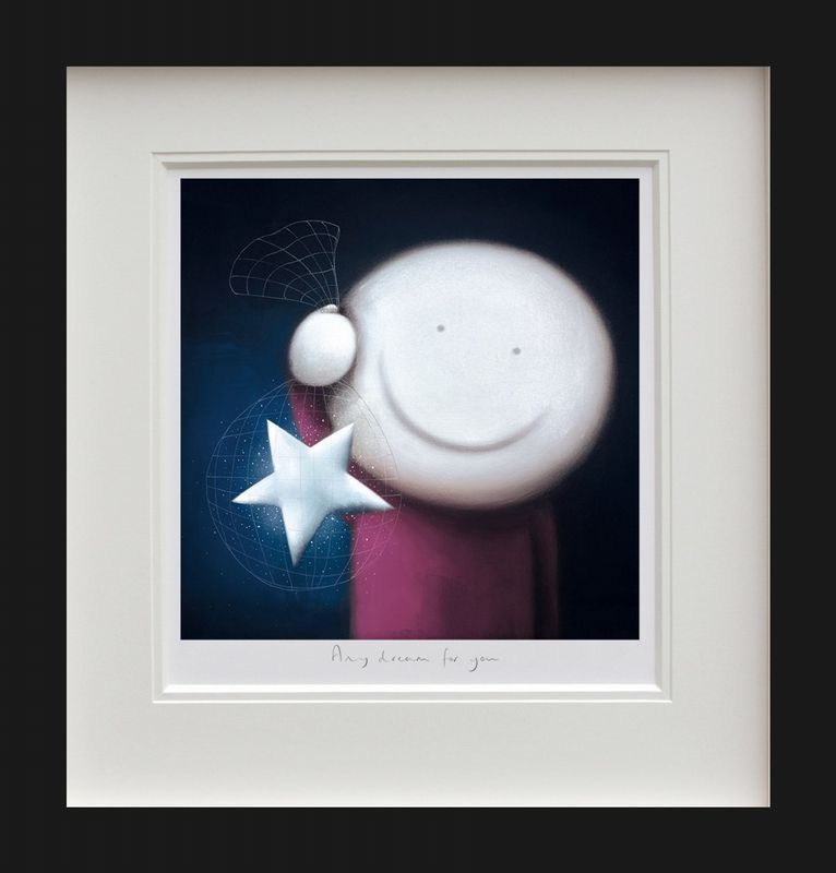 Any Dream For You - Black - Framed by Doug Hyde