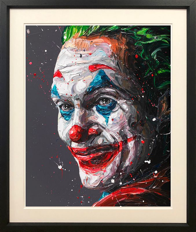 Arthur - The Joker - Framed by Paul Oz