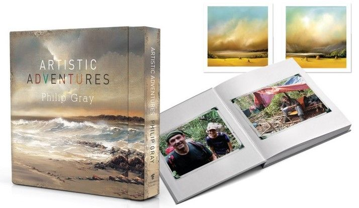 Artistic Adventures - Limited Edition Book  by Philip Gray