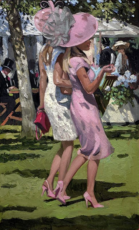 Ascot Chic I - Board Only by Sherree Valentine Daines