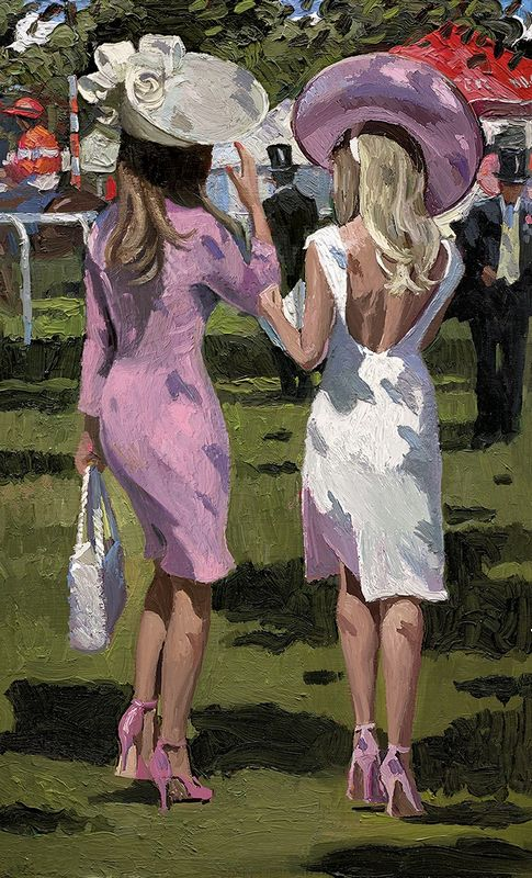 Ascot Chic II - Board Only by Sherree Valentine Daines