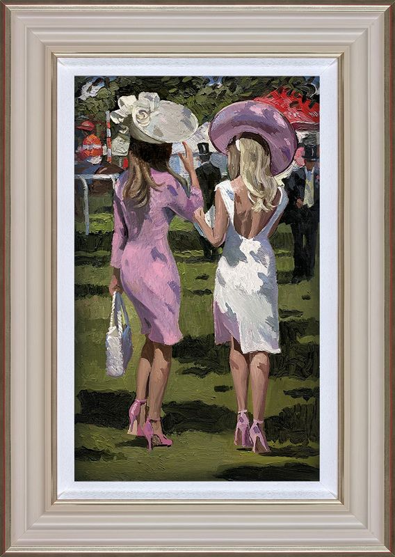 Ascot Chic II - Framed by Sherree Valentine Daines
