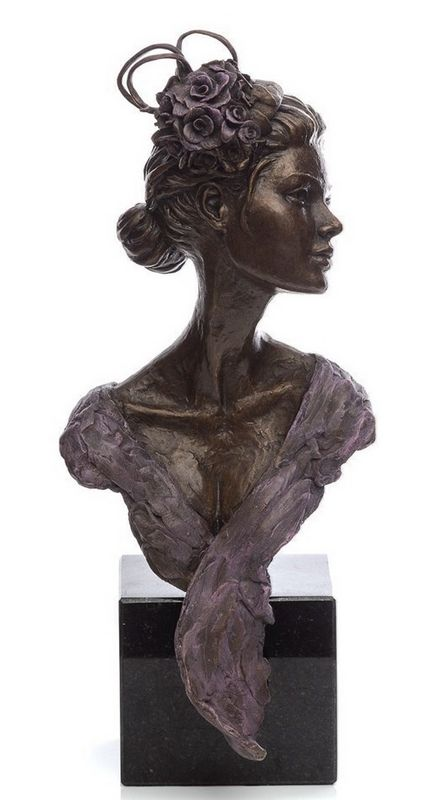 Ascot Glamour And Vision - Bronzes by Sherree Valentine Daines