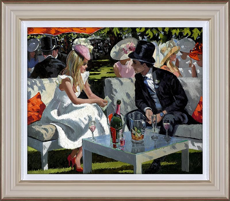 Ascot Glamour - Framed by Sherree Valentine Daines