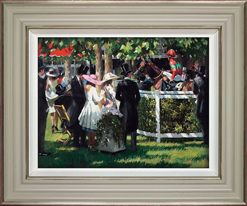 Ascot Race Day I - Framed by Sherree Valentine Daines