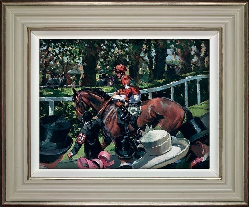 Ascot Race Day II - Framed by Sherree Valentine Daines