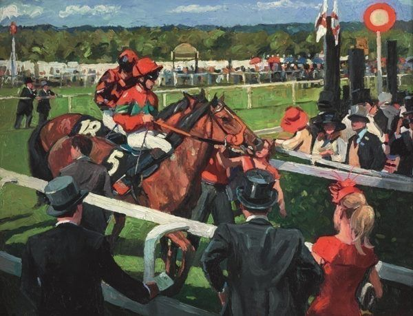 Ascot Race Day III by Sherree Valentine Daines