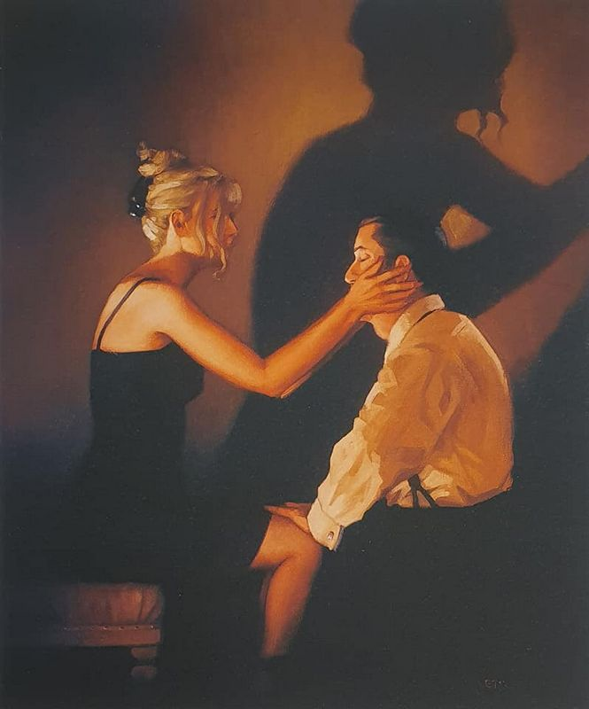 At Last, My Lovely by Jack Vettriano