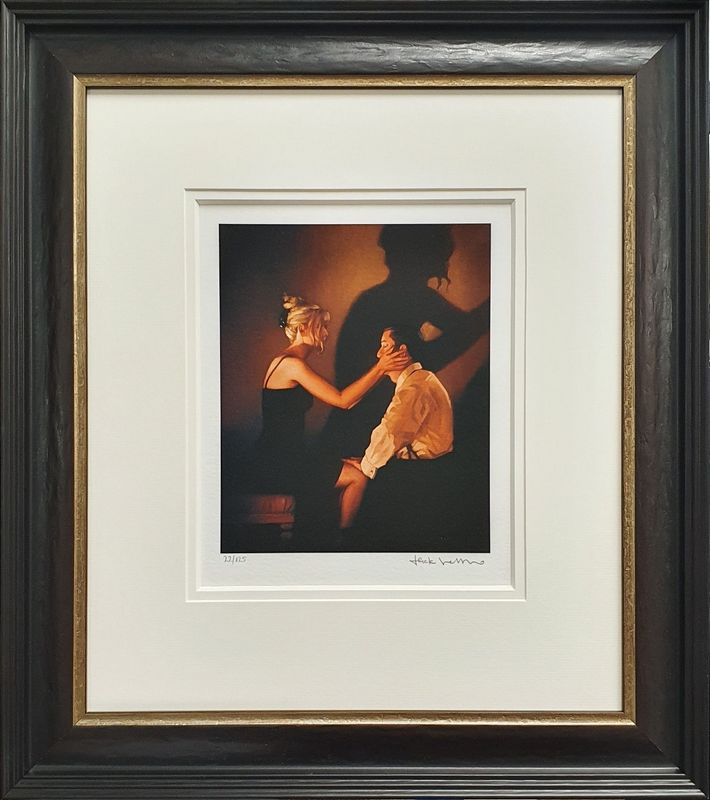 At Last, My Lovely - Framed by Jack Vettriano
