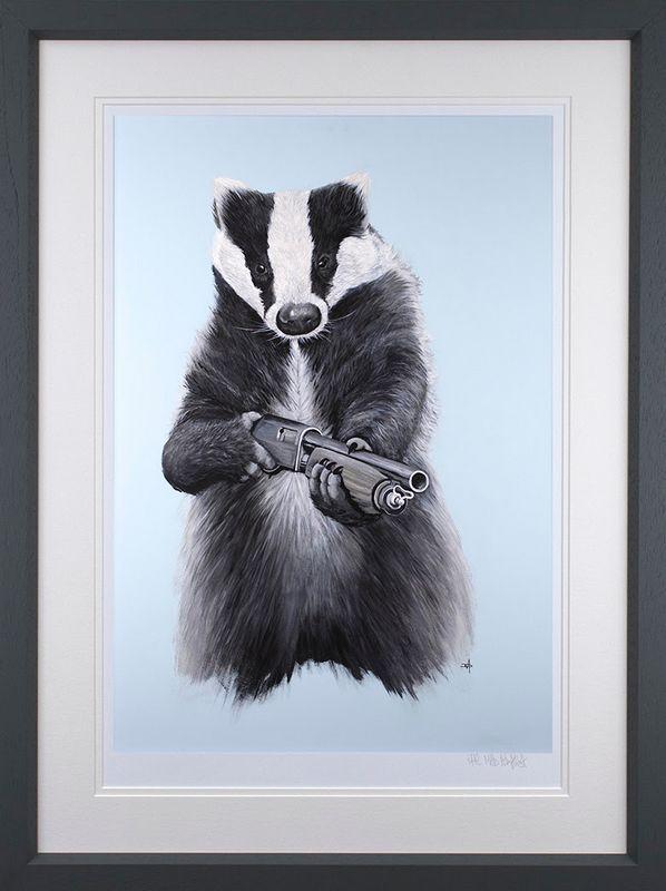 BAD-GER  - Framed by Dean Martin *Mad Artist