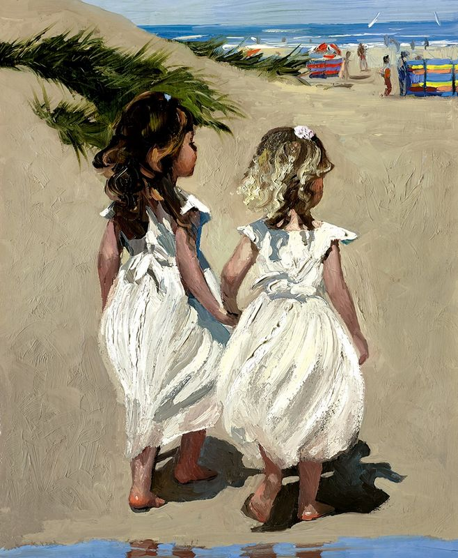 Beach Babies - Board Only by Sherree Valentine Daines