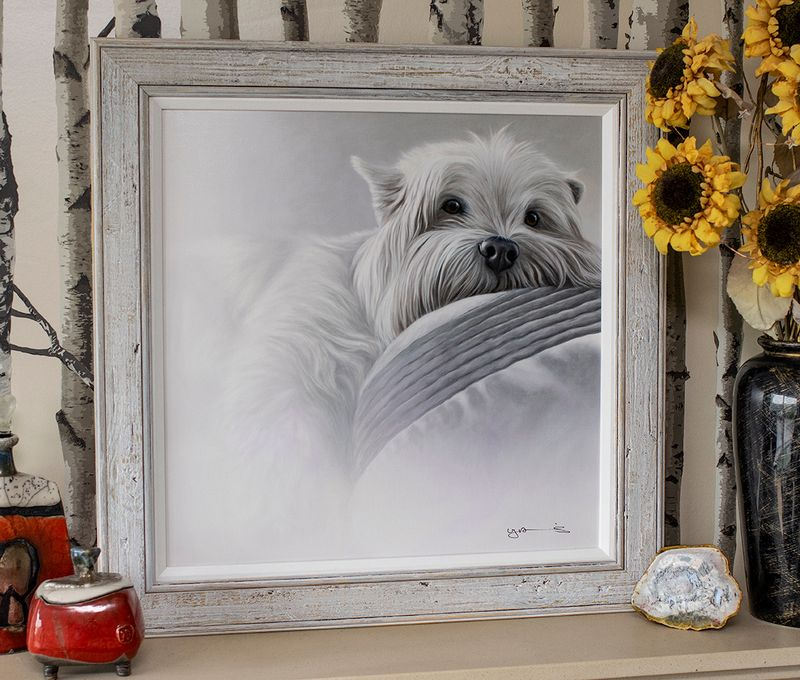 Bed Rest - Original Edition - Framed by Nigel Hemming