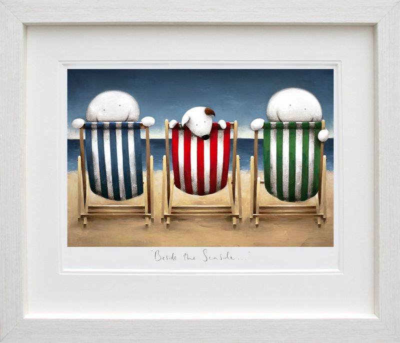 Beside The Seaside - Framed by Doug Hyde