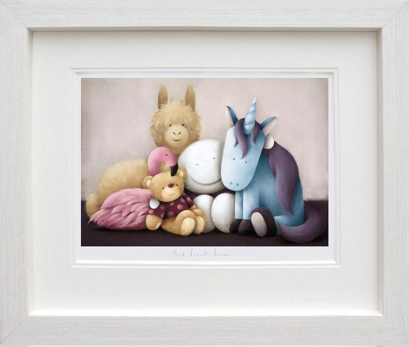 Best Friends Forever - Framed by Doug Hyde