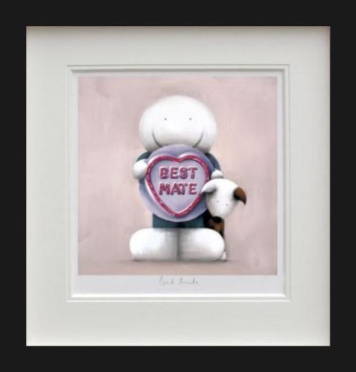 Best Mate - Black Framed by Doug Hyde