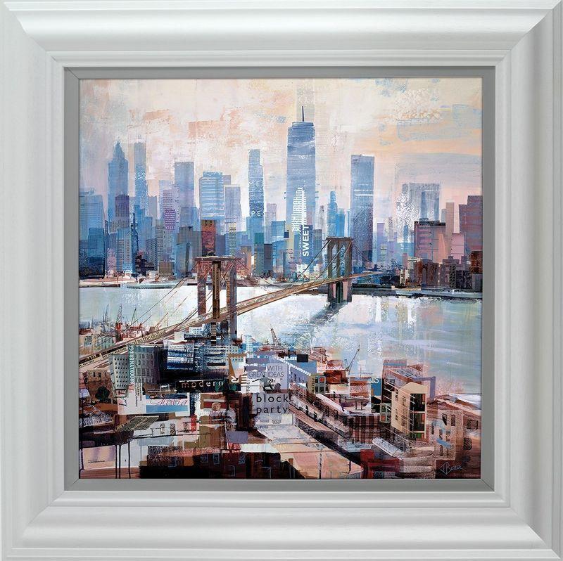 Big City Blues - Framed by Tom Butler