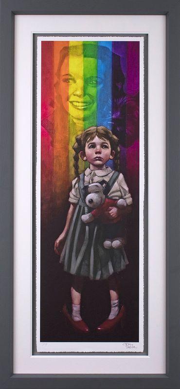 Birds Fly Over The Rainbow - Framed by Craig Davison