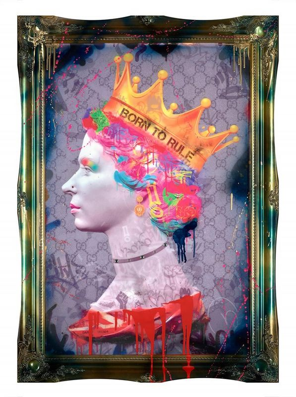 Born To Rule - Framed by Dan Pearce