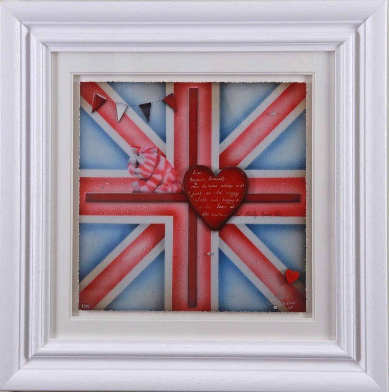Britannia - Bagpuss - Artist Proof - Framed by Kealey Farmer