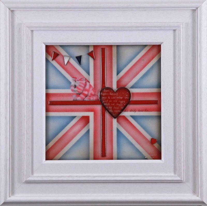 Britannia - Bagpuss - Original - Framed by Kealey Farmer