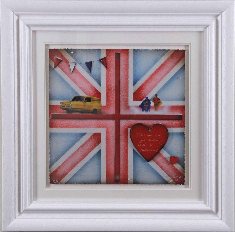 Britannia - Batman And Robin - Artist Proof - Framed by Kealey Farmer