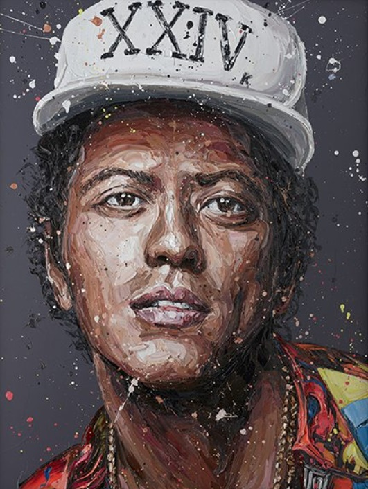 Bruno - Canvas - Framed by Paul Oz