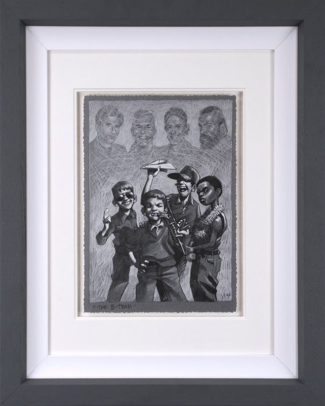 The B-Team - Sketch - Framed by Craig Davison