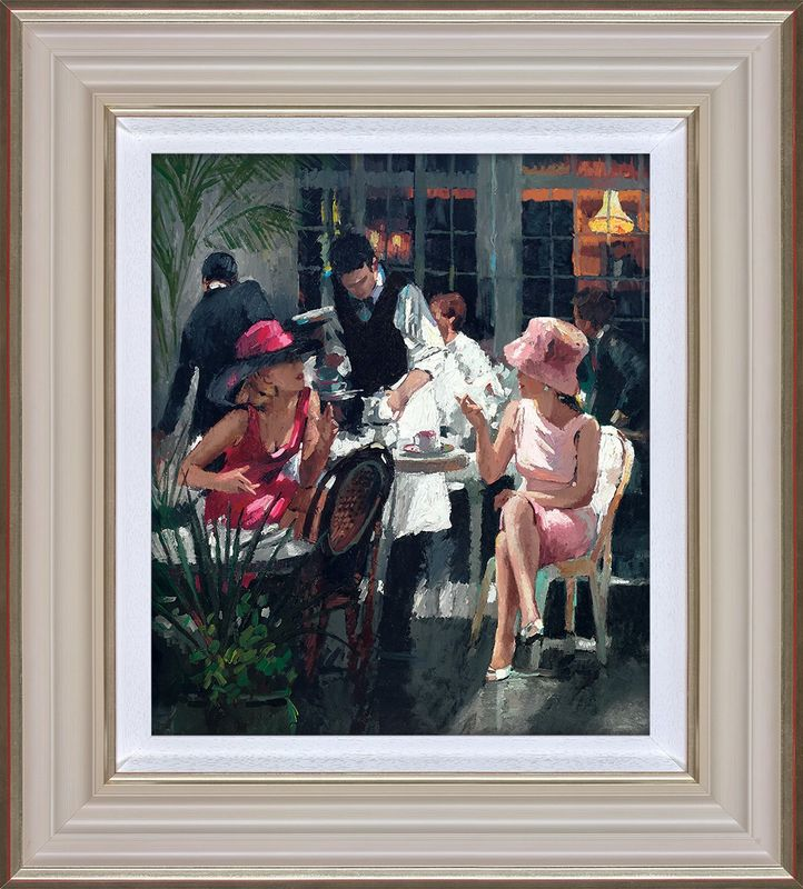 Cafe Royal - Framed by Sherree Valentine Daines