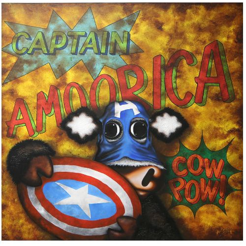 Captain Amoorica by Caroline Shotton