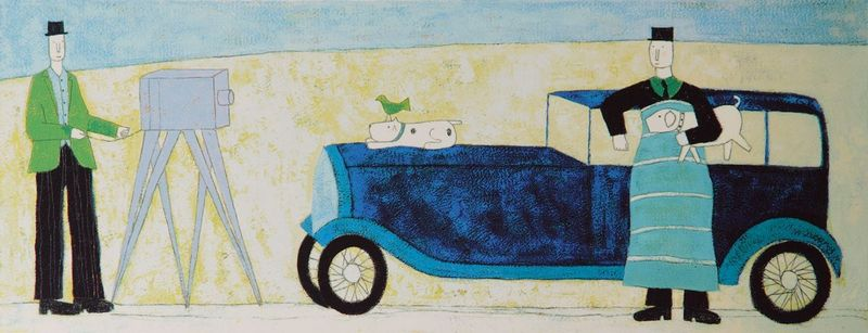 Car & Camera by Annora Spence