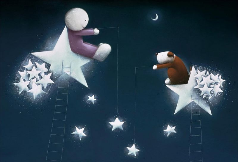 Catch A Falling Star - Picture - Mounted by Doug Hyde