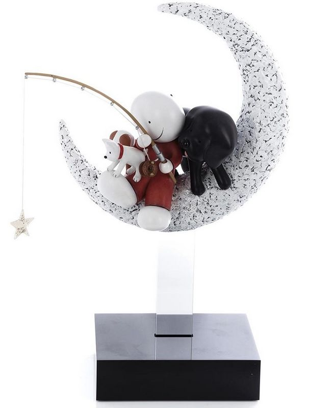 Catch A Falling Star - Sculpture