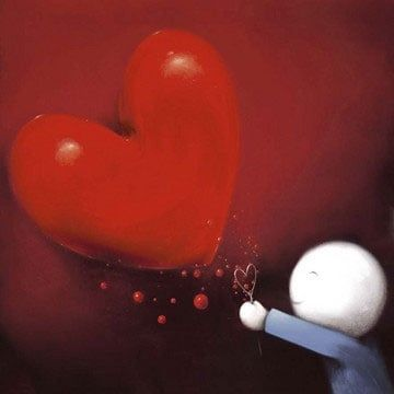 Catch My Heart - Mounted by Doug Hyde