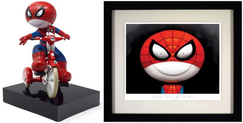 Catches Thieves Just Like Flies - Picture And Sculpture - Set  by Doug Hyde
