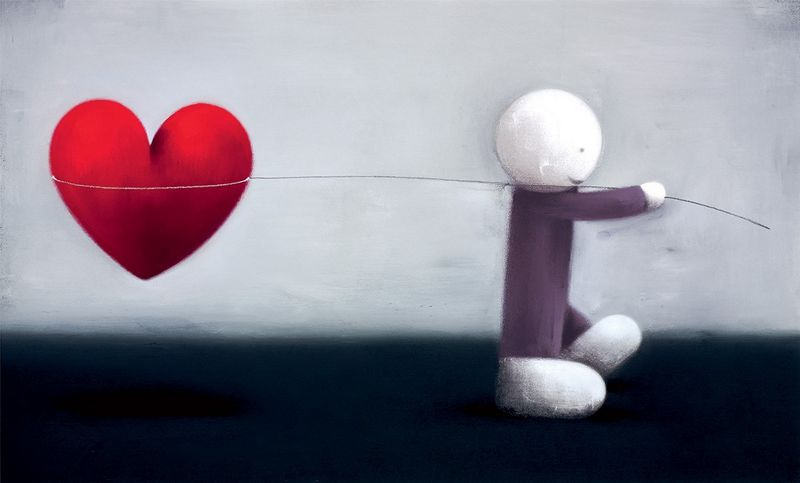 Caught Up In Love - Mounted by Doug Hyde