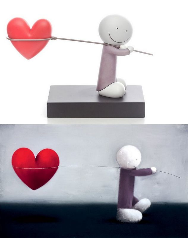 Caught Up In Love - Sculpture & Print by Doug Hyde