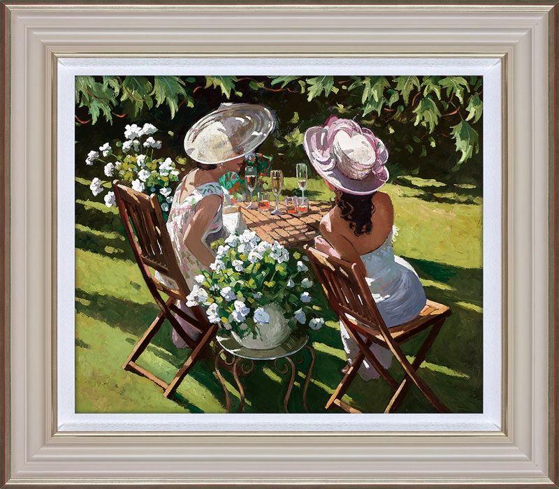 Champagne Celebration - Framed by Sherree Valentine Daines