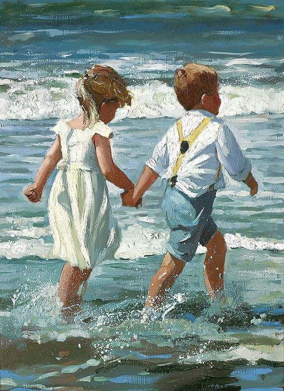 Chasing The Waves by Sherree Valentine Daines